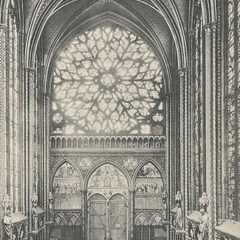 PARIS. - ROSACE DE LA SAINTE CHAPELLE. - Postcards