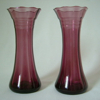 Two Large Belgian Vases
