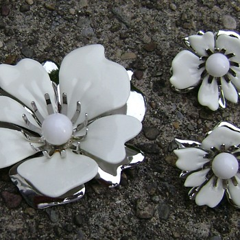 Sarah Coventry Brooch Set - New Summer Magic - Costume Jewelry