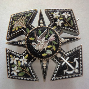 One of my favorite Micro Mosaic brooches
