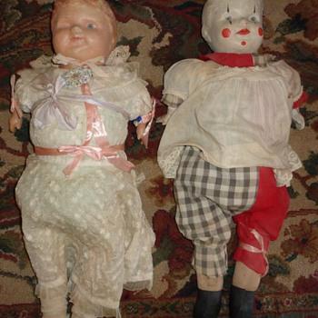 Help identifying dolls!  - Dolls