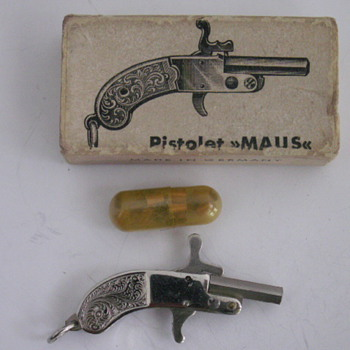 2mm pinfire pistol fobs - Pocket Watches