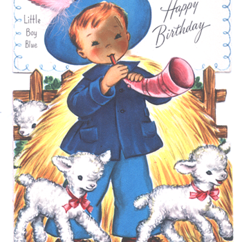 Little Boy Blue | Fairfield Birthday Story Card