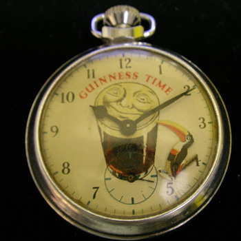 Guinness Time Pocket Watch