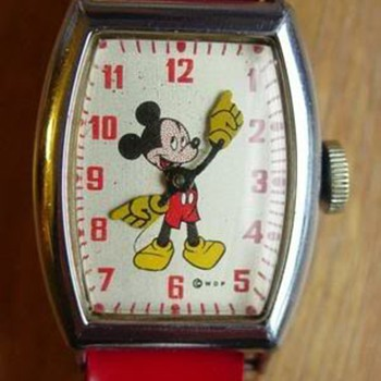 1948 Mickey Mouse Watch - Wristwatches