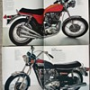 Triumph Motorcycles 1973 sales brochure