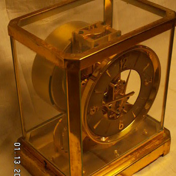 1950's Jaeger-LeCoultre ATMOS Perpetual Motion Clock -Serial #45*** from Geneva, Switzerland