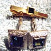 1966-1968 mens tie pin and cuflinks.
