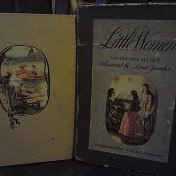 little women 1947 edition in box - Books