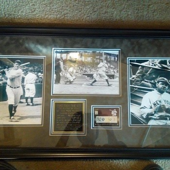 Babe Ruth Set - Baseball