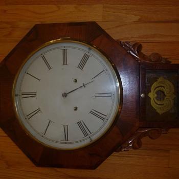 Forestville Pendulum Clock circa 1870 ?