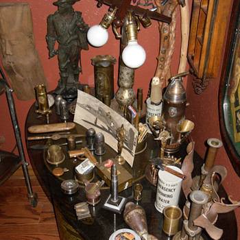 Various Trench Art Items and Other Collectibles