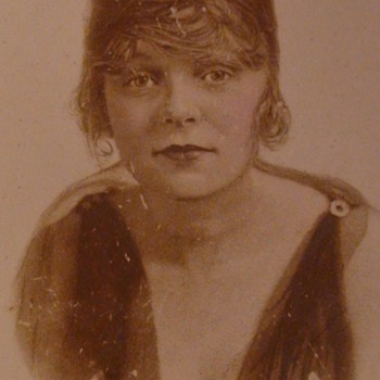 1920s Blanche Sweet  Silent Film Actress Plate Movie Giveaway?