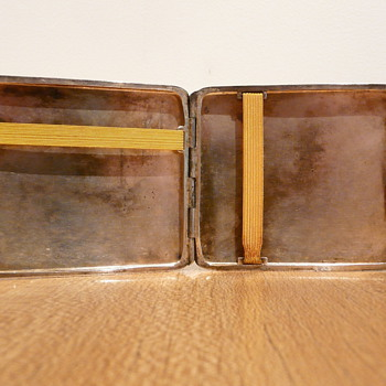 SILVER CIGARETT-ETUIS   LUTZ & WEISS - Sterling Silver