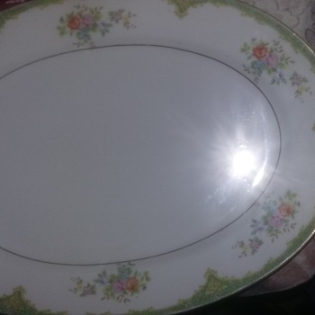 Made in japan platter unknown mark - China and Dinnerware