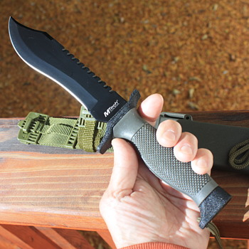 'MTECH' TACTICAL MILITARY-STYLE FIGHTING KNIFE