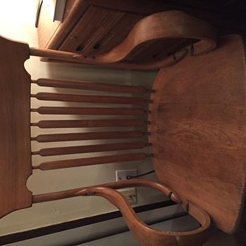 Plain oak chair