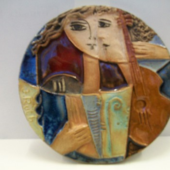Ceramic Tiles By Ruth Faktorowicz  - Art Pottery