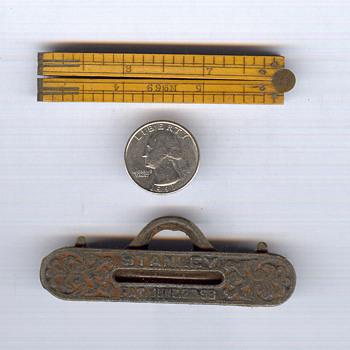 """#69 12"""" folding ruler"""