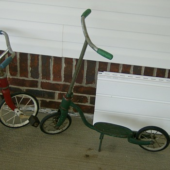 Childs Pedicab and Scooter - Sporting Goods
