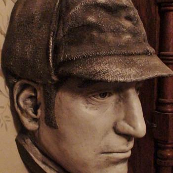 Sherlock Holmes Basil Rathbone Life Mask