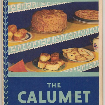 1931 - Calumet Baking Book - Books
