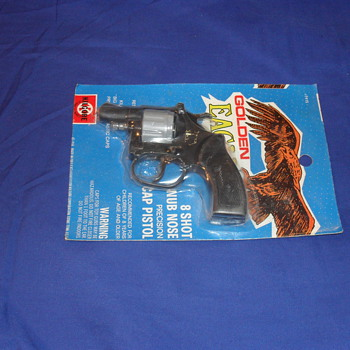 Golden Eagle Cap Gun - Toys