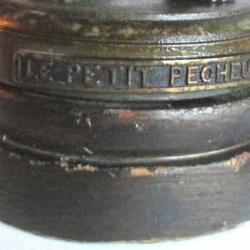 """ALPHONSE JEAN LAVERGNE""""LEPETIT PECHEUR""""LAMP - Art Nouveau"""