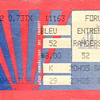 Montreal Canadiens Ticket Stub..the Forum