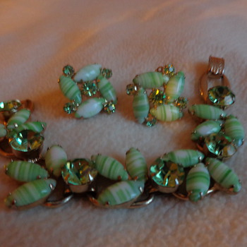 Juliana Bracelet and Earrings