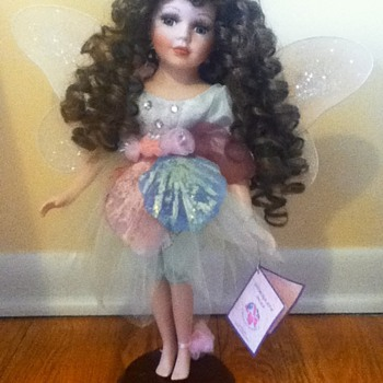 Standing Fairy Porcelain Doll