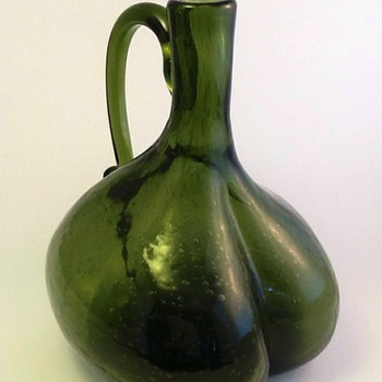 Beautiful mystery bottle - Art Glass