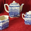 Blue Print China Tea Set