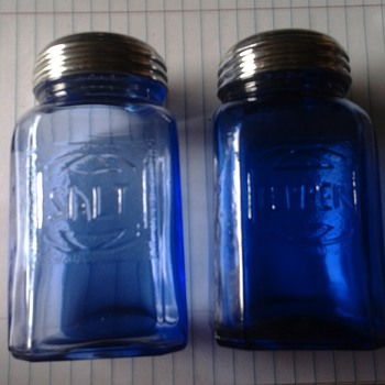 Real or repro blue depression glass - Glassware