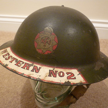 British WW11 National Fire Service - Military and Wartime