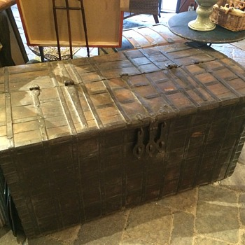 Large Chest - Wood and Iron - Furniture