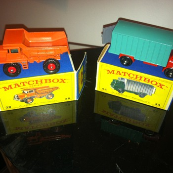 Matchbox new old stock finds...