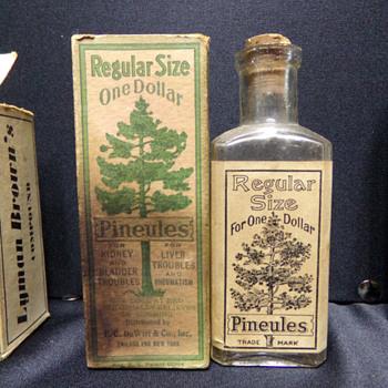 Pineules, 1910s - Bottles