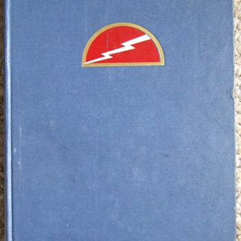 Estate Sale Find~History of the 78th Infantry Division~1st Edition~1947
