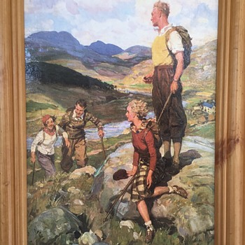 Print by W R S Stott - After the Fell - Visual Art