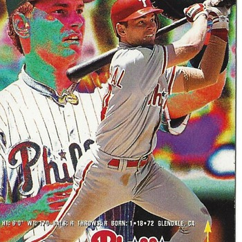 FLEER 1995 MIKE LIEBERTHAL #399 ERROR CARD - Baseball