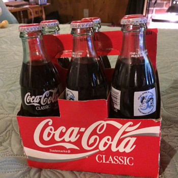 Crazy Horse Coke Bottles