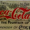 Pre-1900's Coupon:  The Coca-Cola Company    Atlanta, GA.