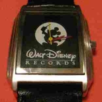 Disney Records Mickey - Wristwatches