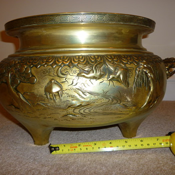 Brass Planter