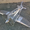 "My favorite ""vintage?"" glass or crystal art deco airplane"