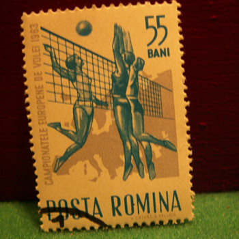 1963 Romina (Romania) 55 Bani Stamp - Stamps