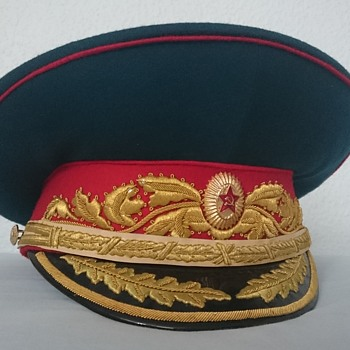 Soviet Parade Visor Cap of a Marshal of the Soviet Union - Military and Wartime