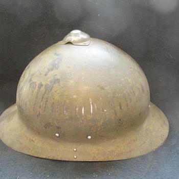 Vintage military helemts