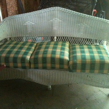 vintage wicker furniture - Furniture